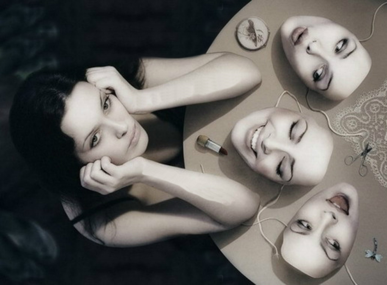 comunicazione fantalica maschere