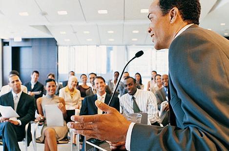 parlare in pubblico lezione